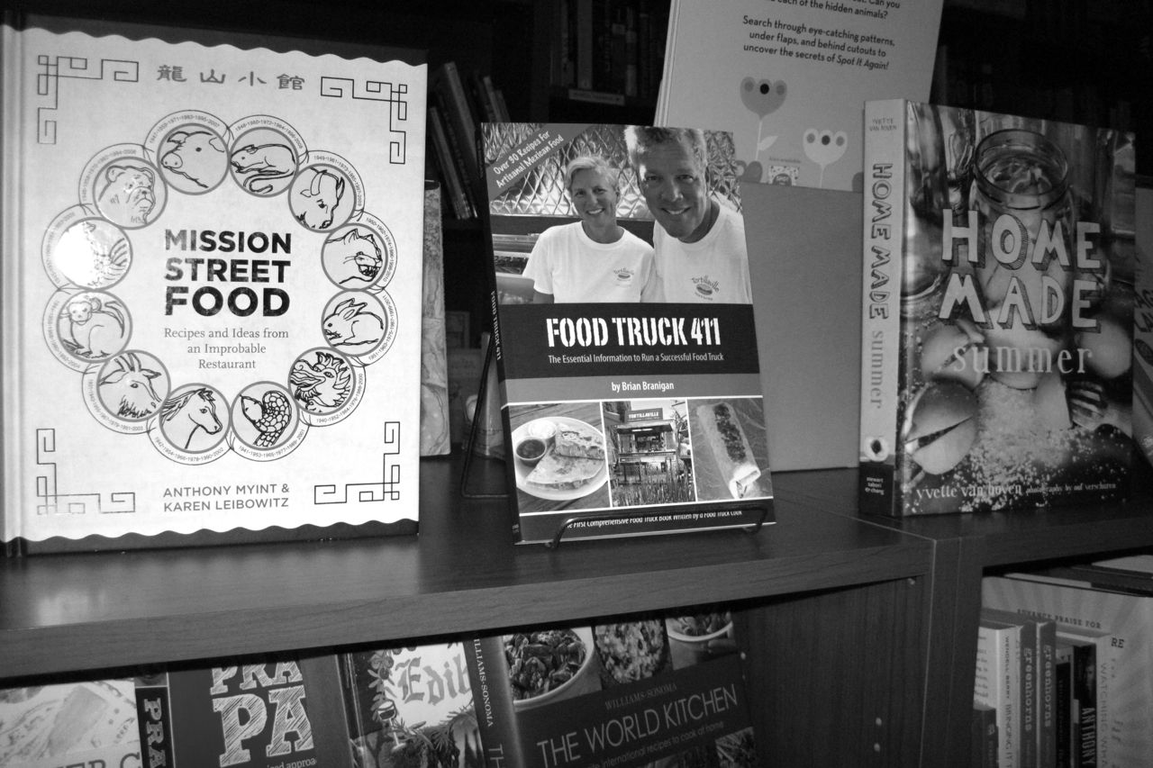 Food Truck 411 in book store