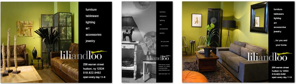 Lili and Loo Print Ads