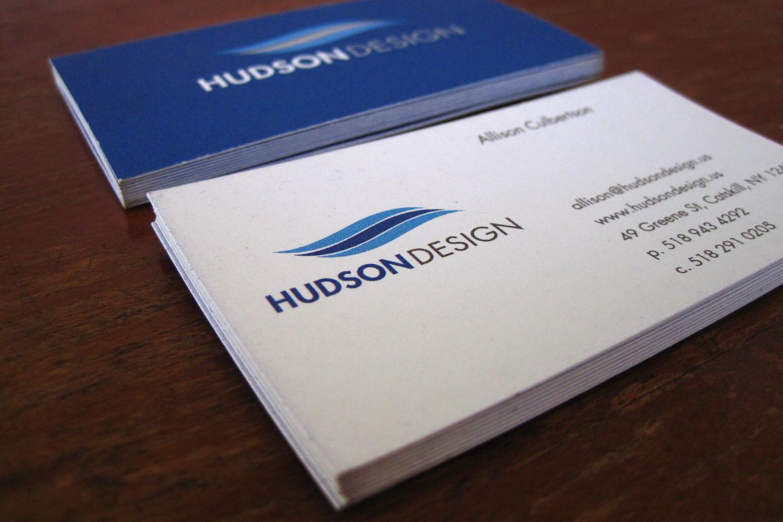 Hudson Design Business Cards