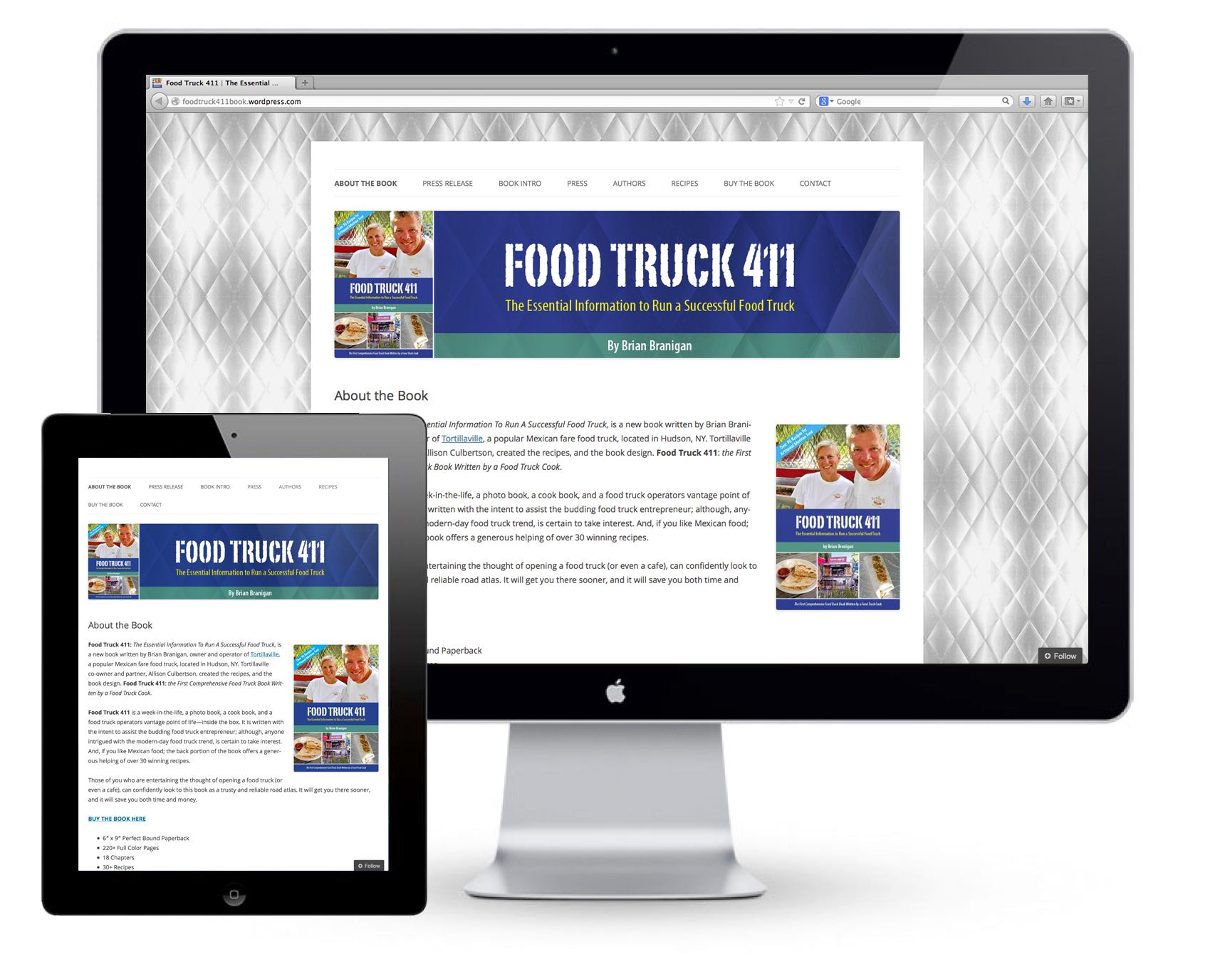Food Truck 411 Website