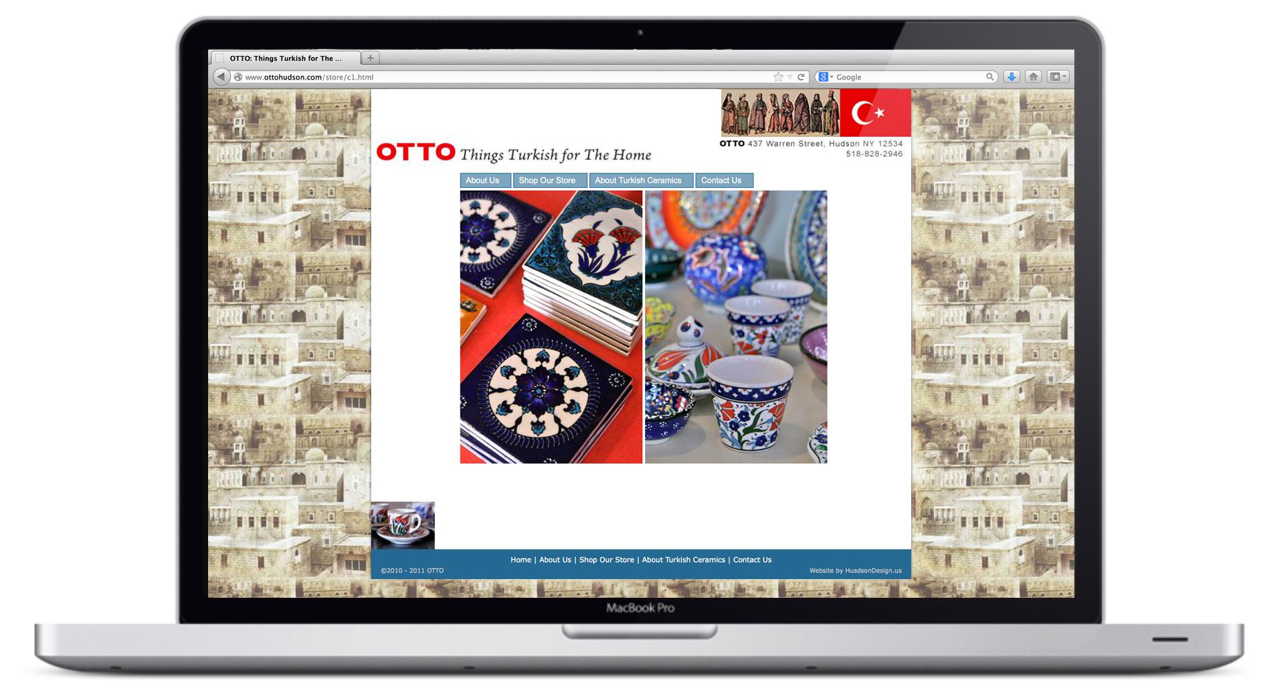 Otto Website Homepage Animation 4