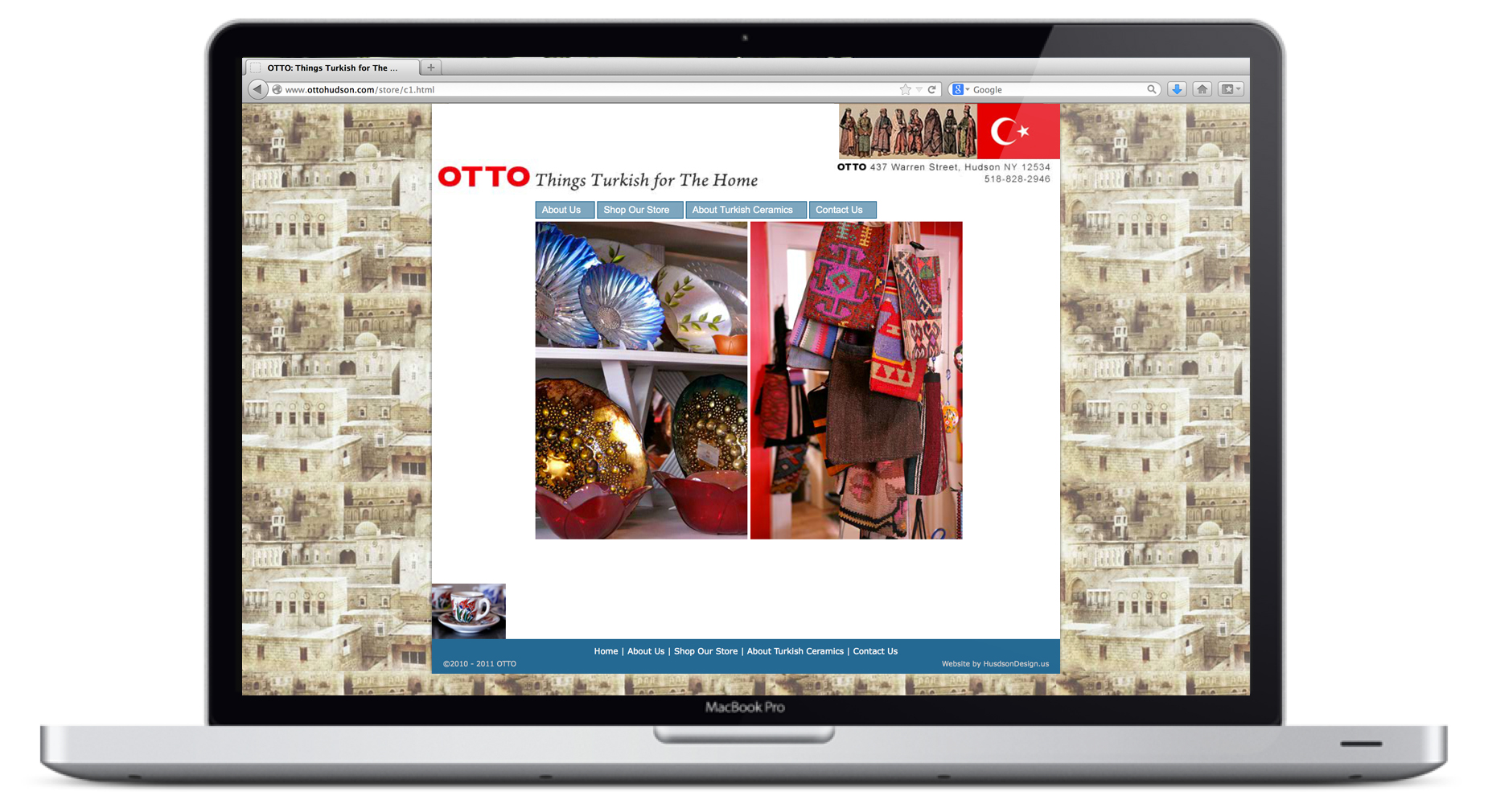Otto Website Homepage Animation 3
