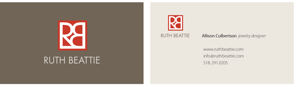 Ruth Beattie Business Card