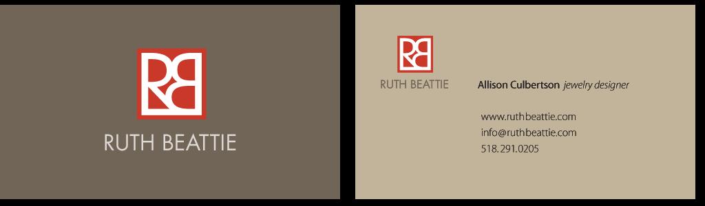 Ruth Beattie Business Card