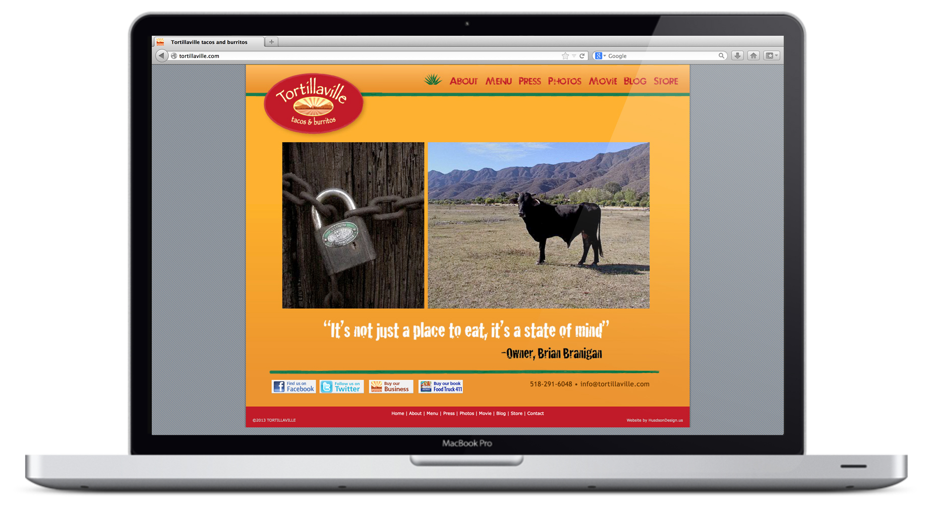 Tortillaville Homepage Animation 6