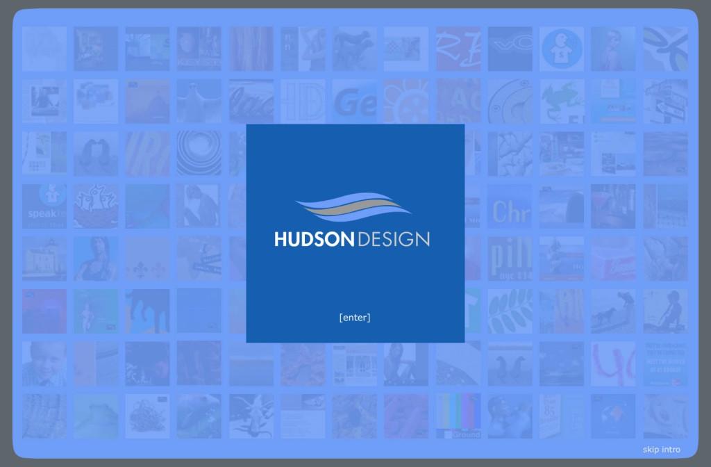 Hudson Design Website Intro